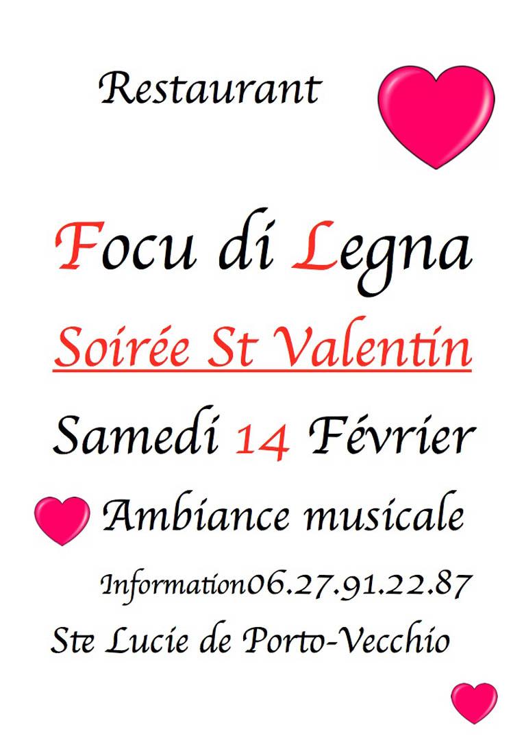 St Valentin Focu DI Legna