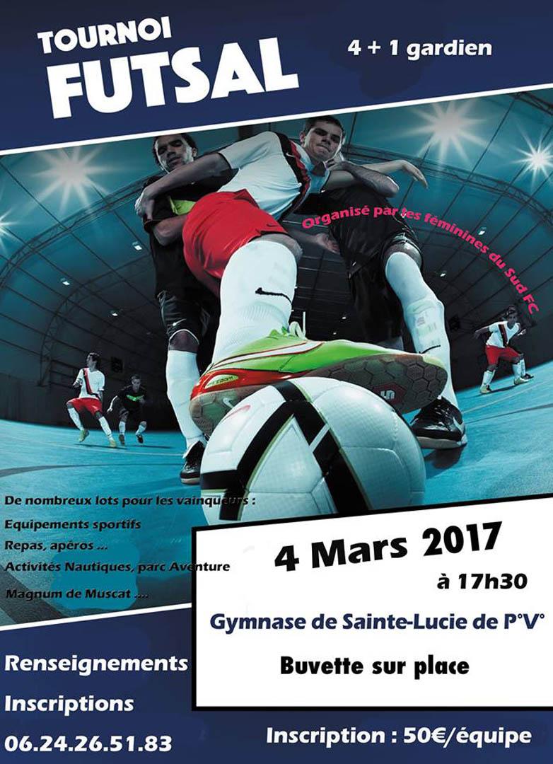 Affiche Tournoi de Foot SportSica du samedi 4 mars