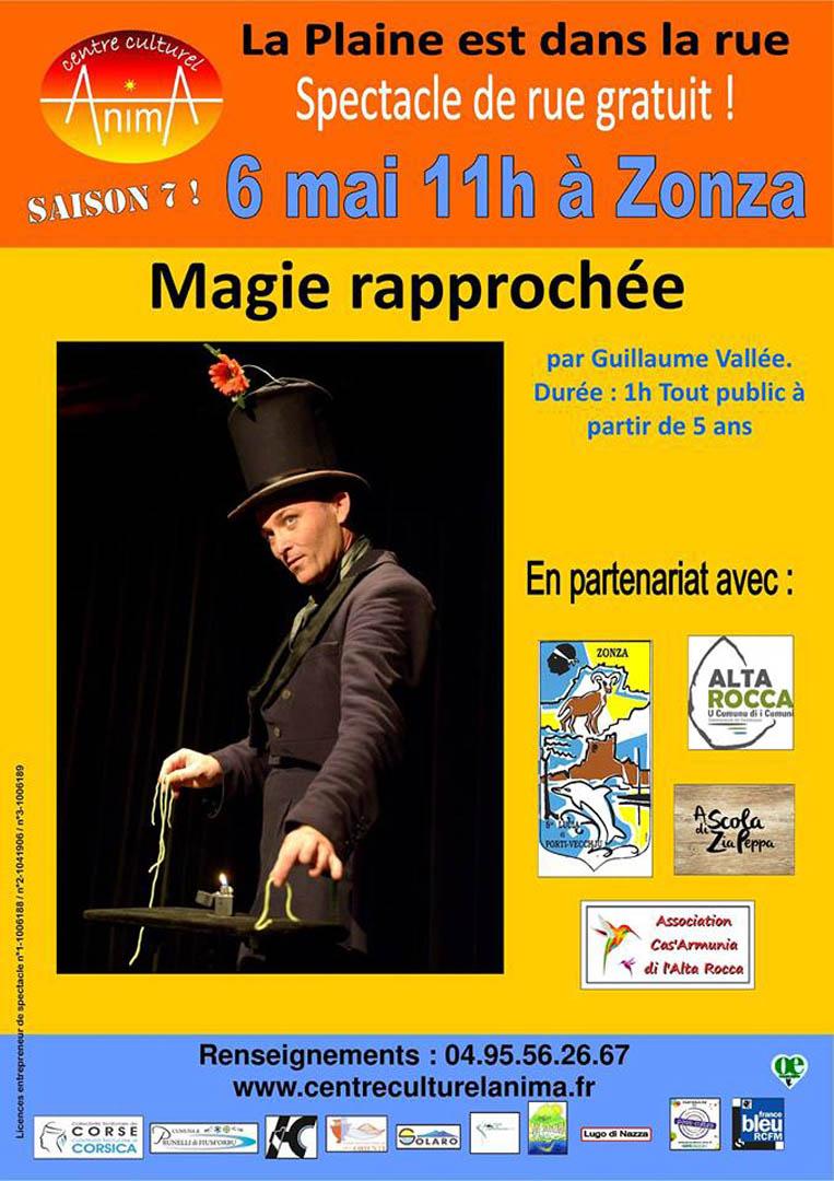Image spectacle de magie a Zonza 06 05 2018