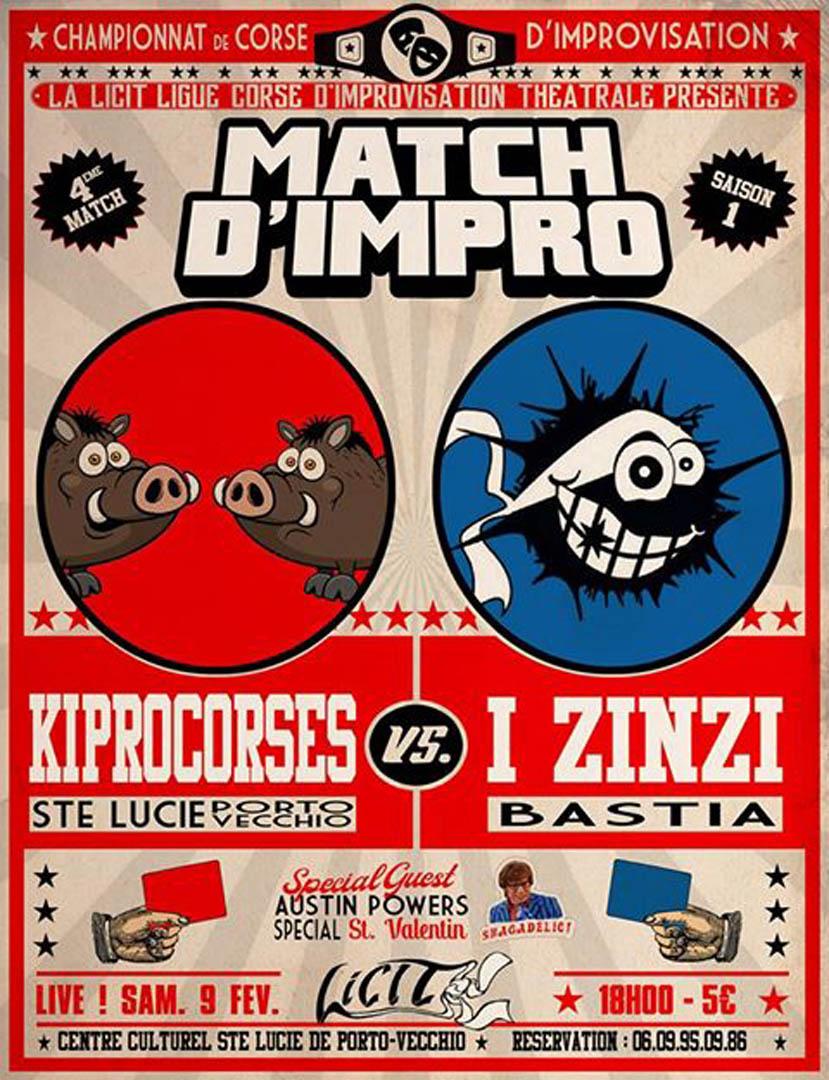 Affiche match d impro 09 02 2019