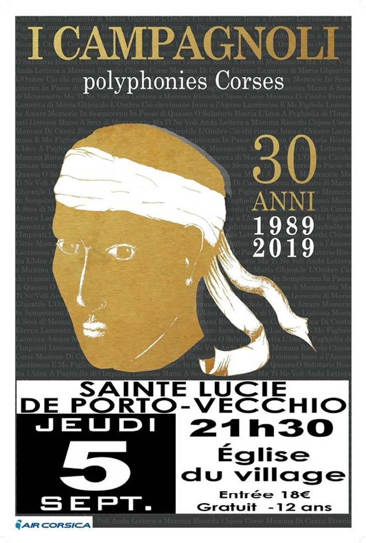Affiche I Campagnoli 5 sept 2019 SLPV